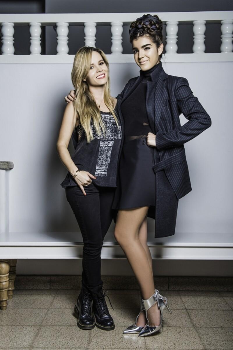 Cassandra de la Vega con Alessa Bravo