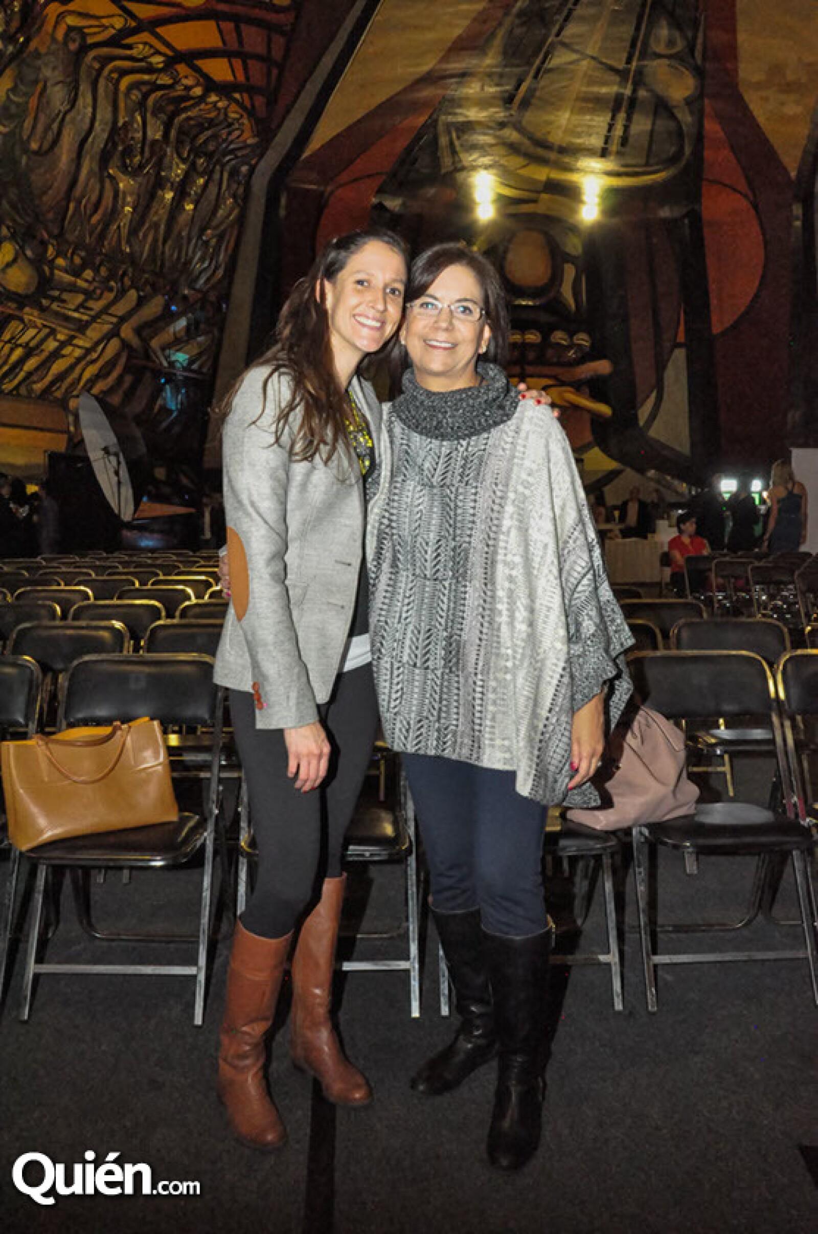 Ines Pardo y Marissa Quiroga