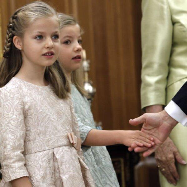 Con sólo 8 años, Leonor de Borbón se ha convertido en princesa de Asturias.