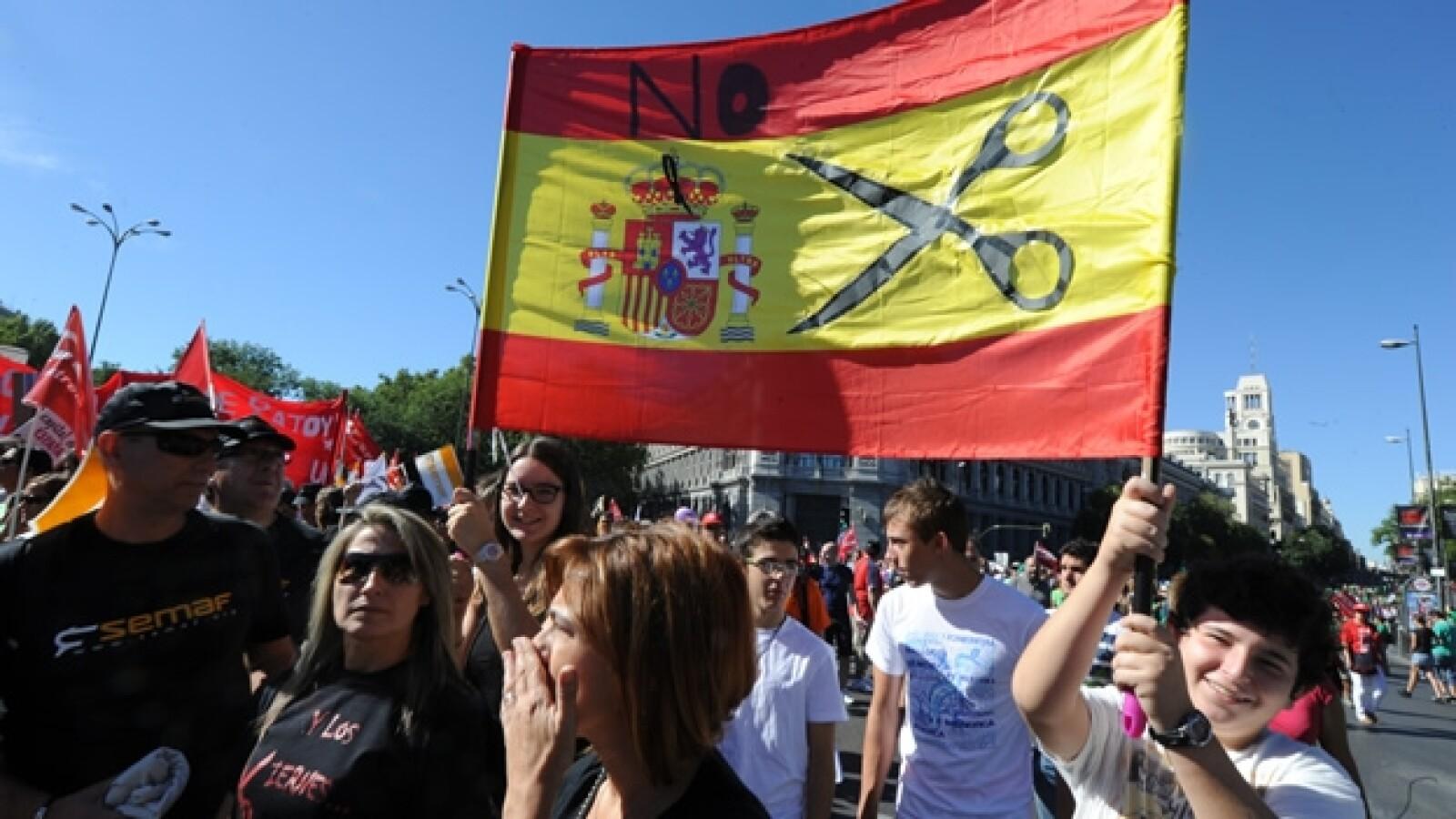 España crisis marcha 1