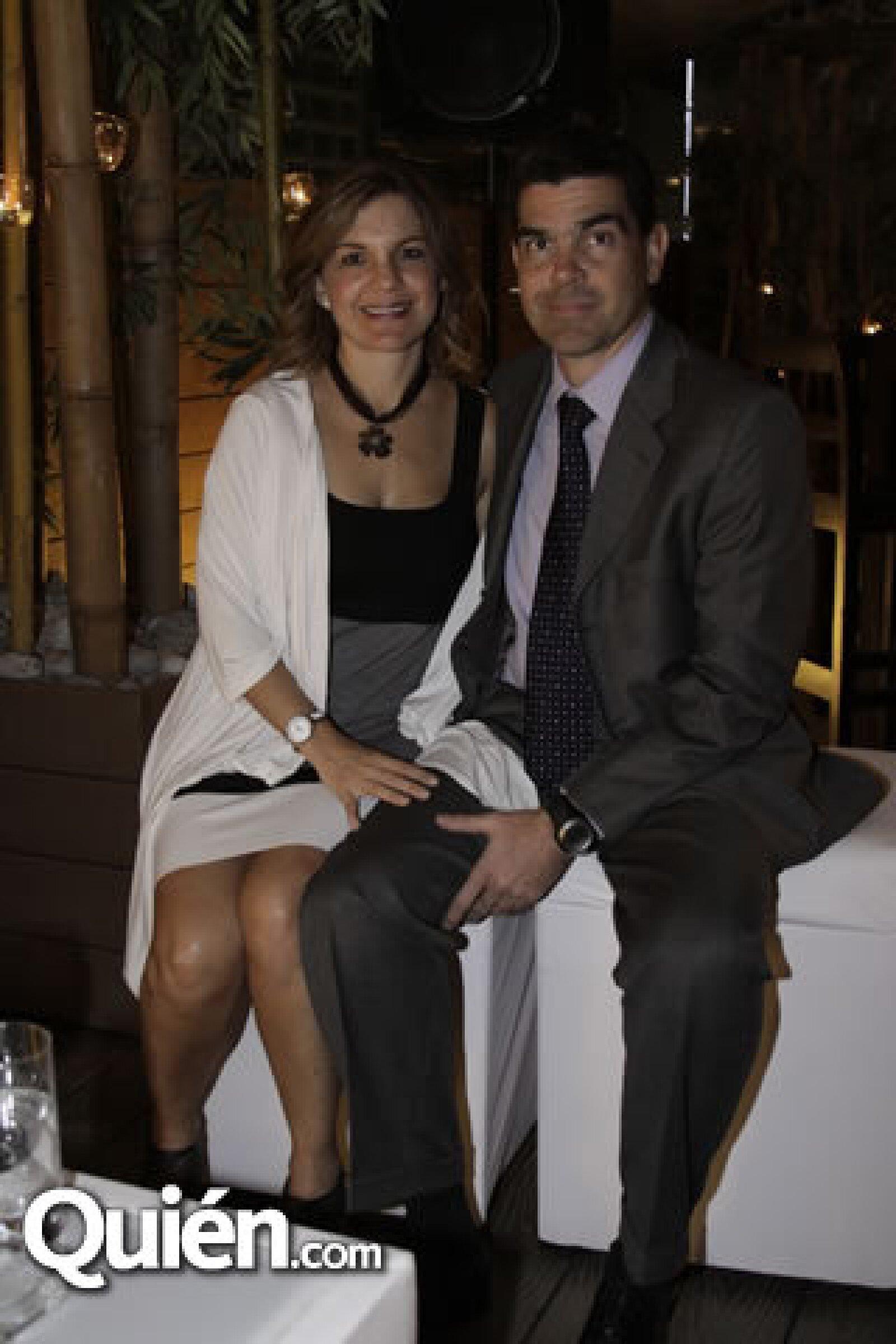 Luz María Puron y Osvaldo Rance