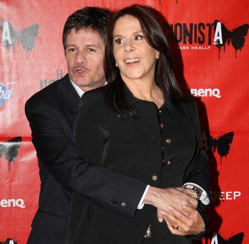 Rebecca y Alejandro siempre fueron considerados como una de las parejas del espectáculo más sólidas y estables.