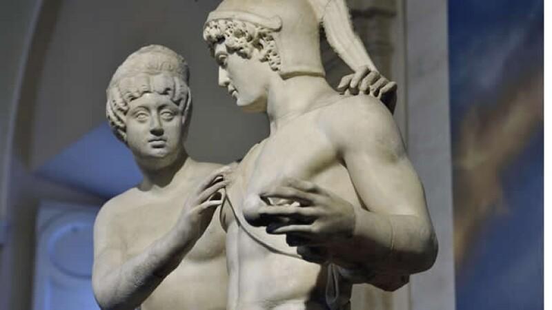 escultura de marte y venus
