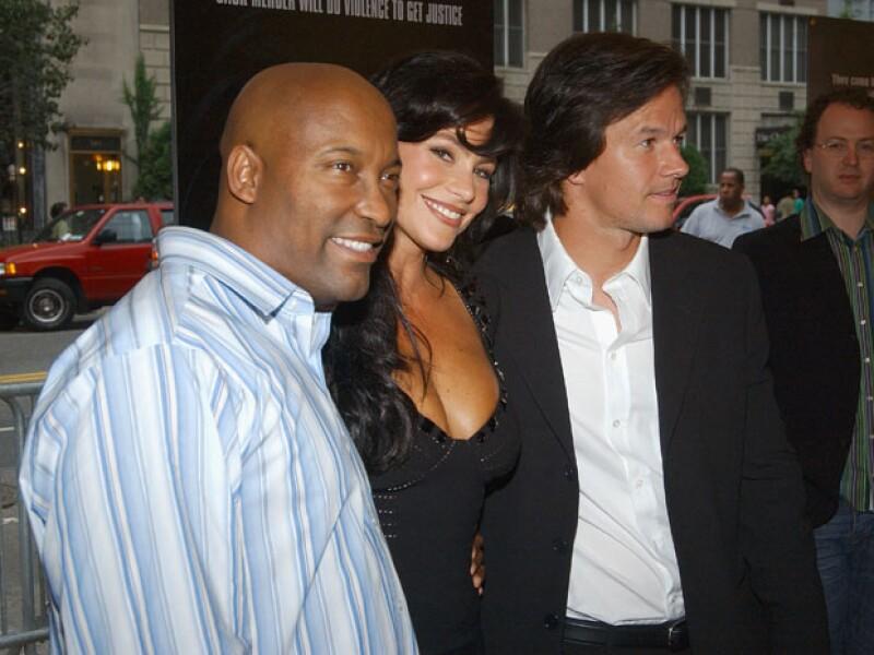 Sofía fue relacionada sentimentalmente con el actor Mark Wahlberg hace ya algún tiempo.