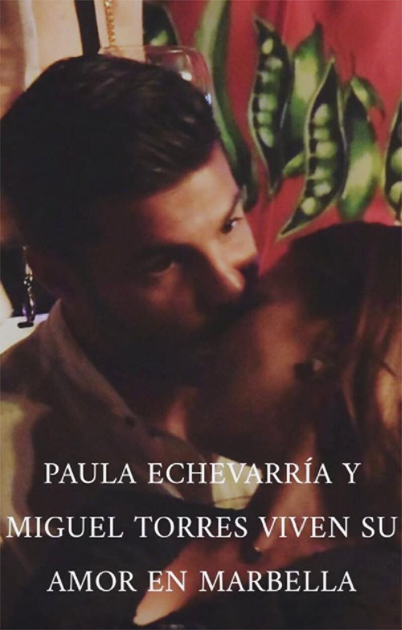 Paula Echeverría y Miguel Torres
