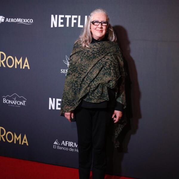 Verónica García, actriz de Roma.