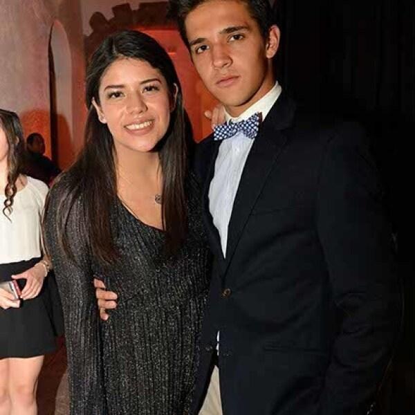 Paulina Garza y Ricardo Ceballos.