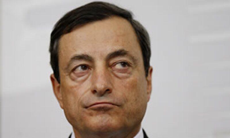 Mario Draghi indicó que la banca se benefició de la inyección de casi medio billón de euros a tres años por parte del BCE. (Foto: AP)