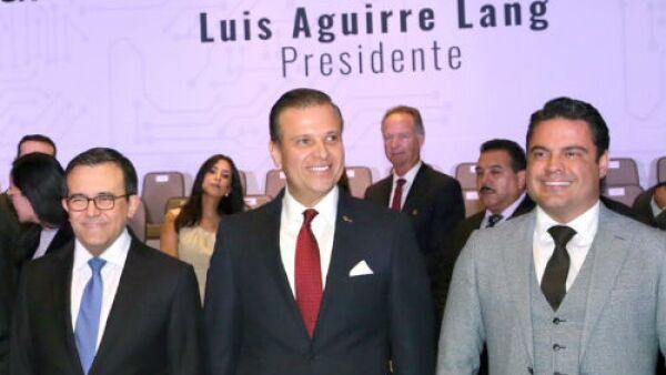 Toma de protesta de Luis Aguirre Lang como presidente de Index