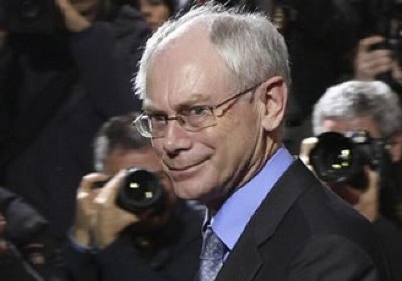 El primer ministro belga, Herman Van Rompuy, será el primer presidente de tiempo completo del bloque.  (Foto: AP)