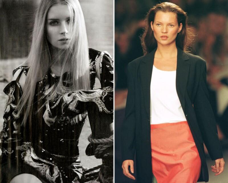 Lottie Moss a sus 17 y Kate Moss cuando tenía 24 años. ¿Se parecen?