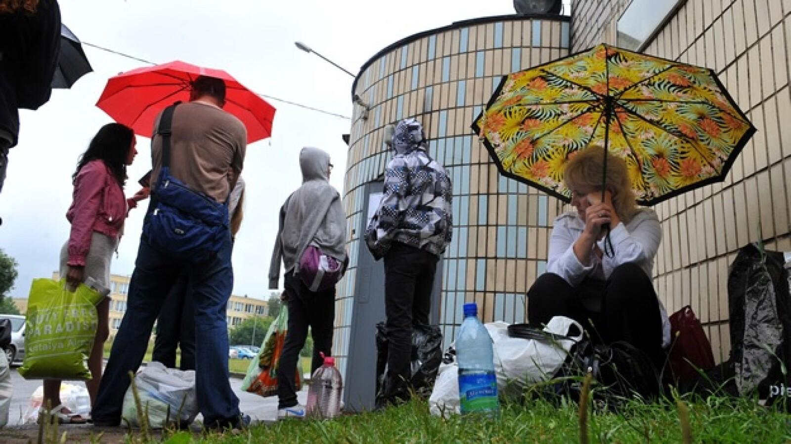 Bielorrusia - familiares - detenidos