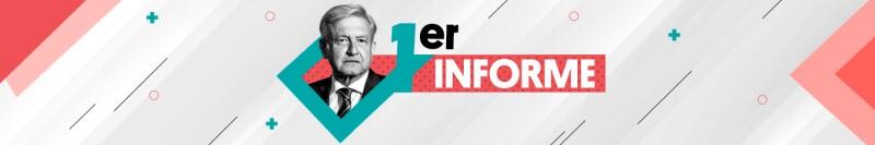 Primer Informe / header desktop Home Política