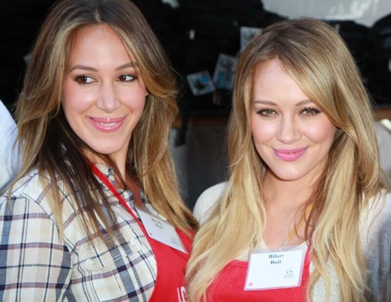 Las hermanas Duff iniciaron su carrera actoral a la par.