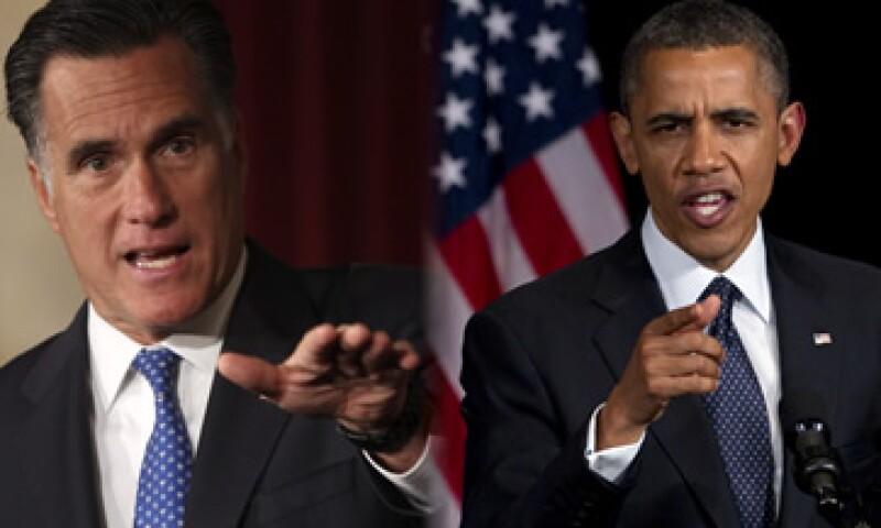 Romney y Obama se enfrentarán en noviembre en la elección presidencial de Estados Unidos. (Foto: Especial)