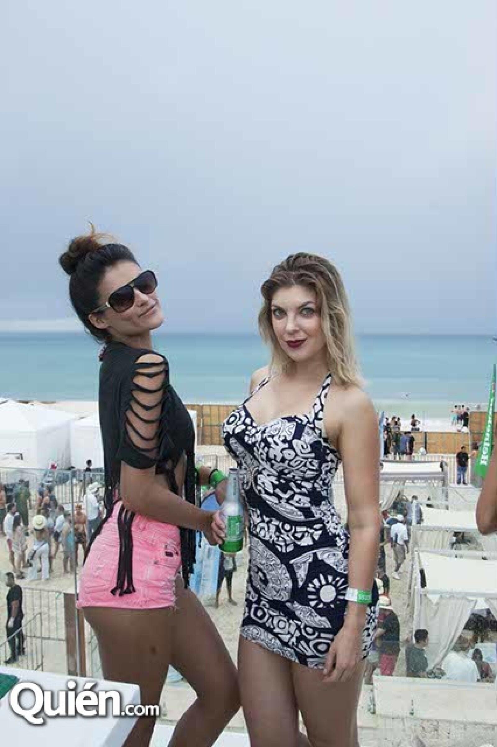 Claudia Román y Viktoria Gudylina
