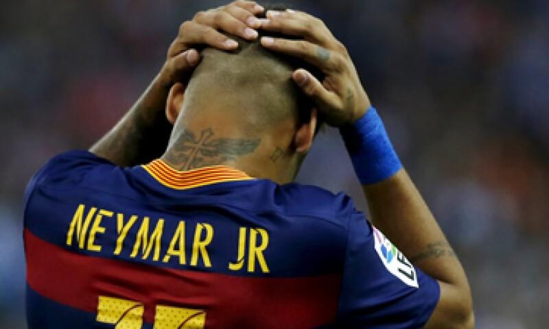 Neymar pasó al club catalán en junio de 2013. (Foto: Reuters )