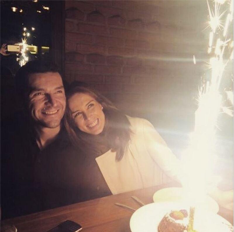 La conductora celebró su cumpleaños junto a su familia.
