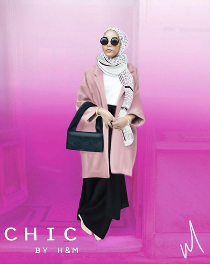 Conoce a Mariah Idrissi, una musulmana que fue escogida para aparecer en uno de los comerciales de la marca sueca, por primera vez.
