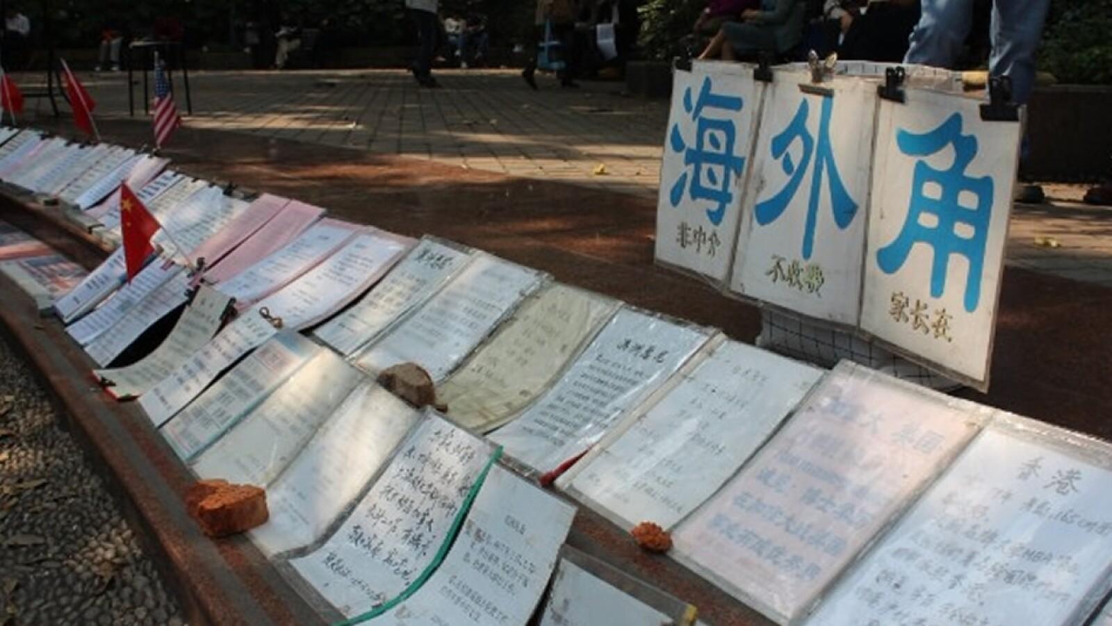 mercado matrimonios Shanghái