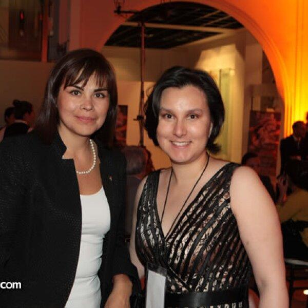 Bárbara Mendoza y Paula Valdéz