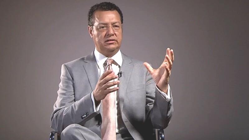 Alfredo Hernández García, secretario de Obras y Servicios del Distrito Federal