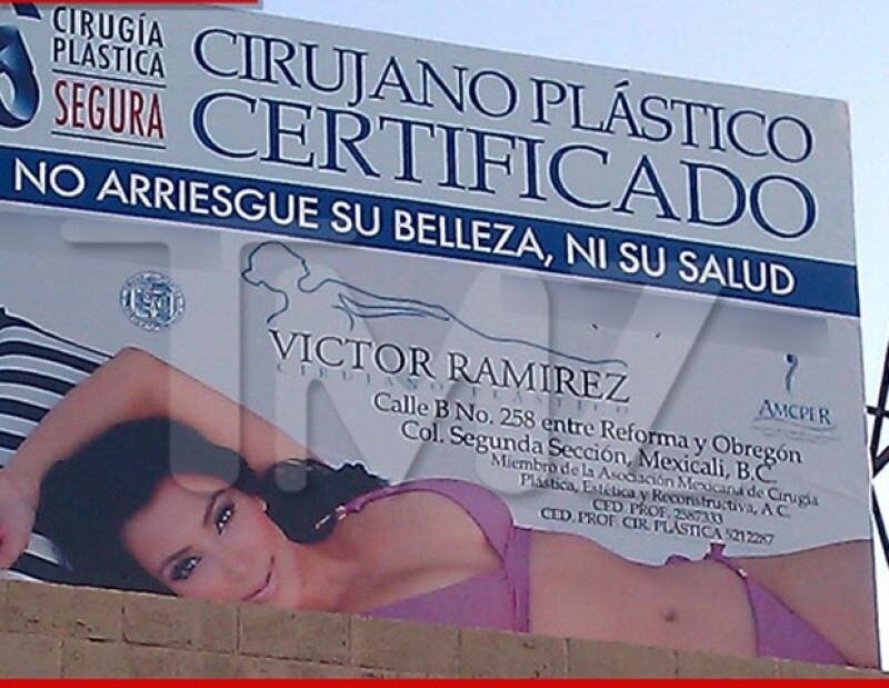 Kim Kardashian probablemente demande al doctor mexicano.