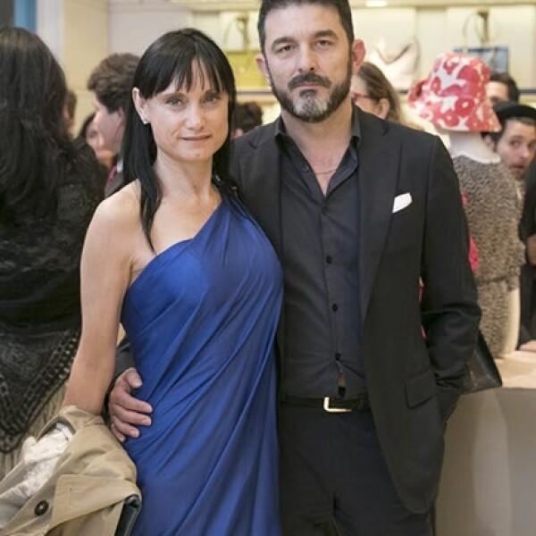 Dolores Sánchez y Toni Benítez