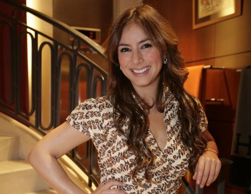 Claudia Lizaldi es conocida, también, por su espiritualidad.