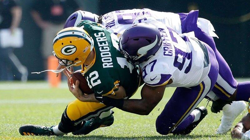Rudeza contra el Quarterback en NFL