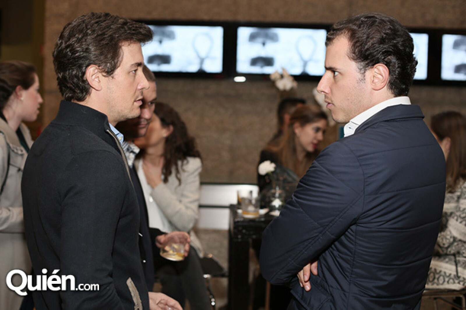Fernando Arangoiz y Carlos Muniain
