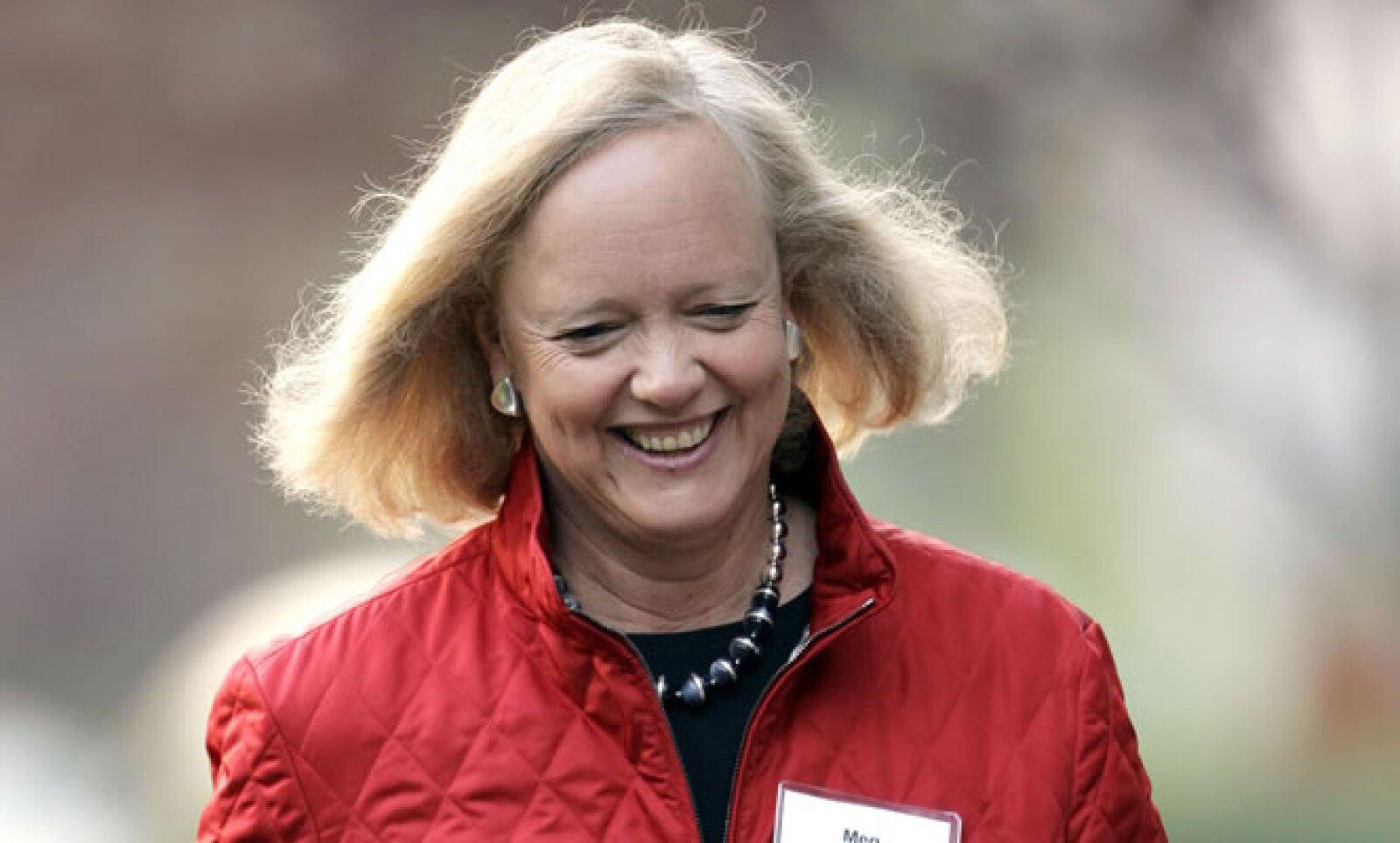 CEO de Hewlett-Packard desde el otoño de 2011. Previamente encabezó eBay durante 10 años. Buscó ser gobernadora de California durante 2010.