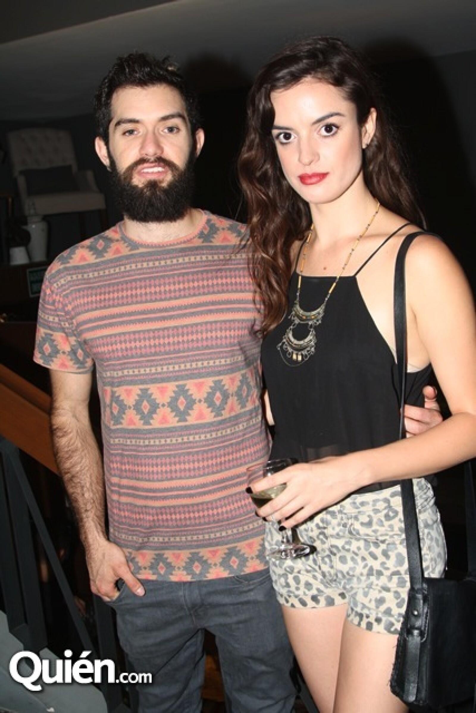 Daniela Perez Trejo y Sergio Camarena
