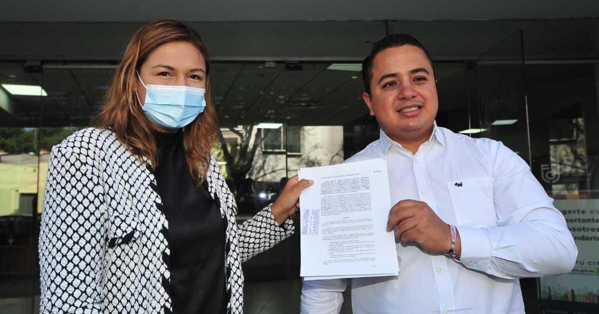 Diputados denuncian a la alcaldesa de Cuauhtémoc ante la Fiscalía de CDMX