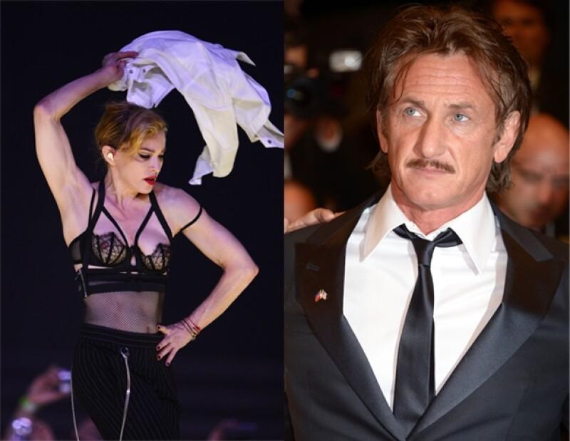 El actor estuvo presente en un concierto de Madonna, en el que la química que siempre han tenido salió a la superficie de nuevo, reveló una revista estadounidense.