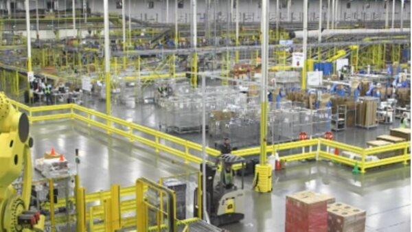 A la fecha Amazon ha desplegado más de 10,000 robots Kiva en diez centro de distribución alrededor de Estados Unidos