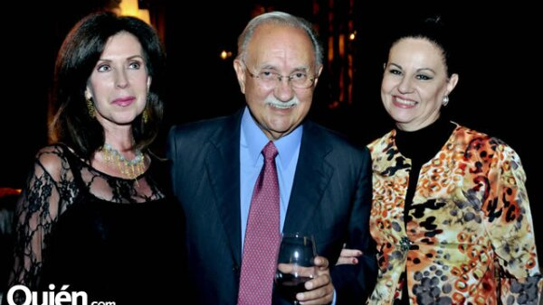 Diana Siller, Rogelio Sada Zambrano y Patricia Laborde