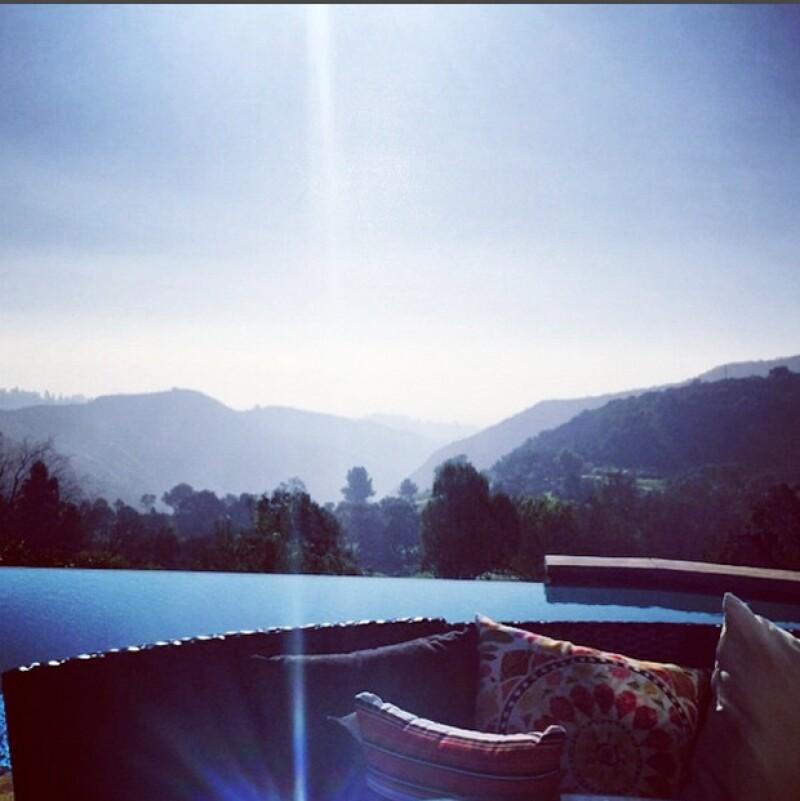 Kate ha compartido fotografías del interior y el exterior de su casa.
