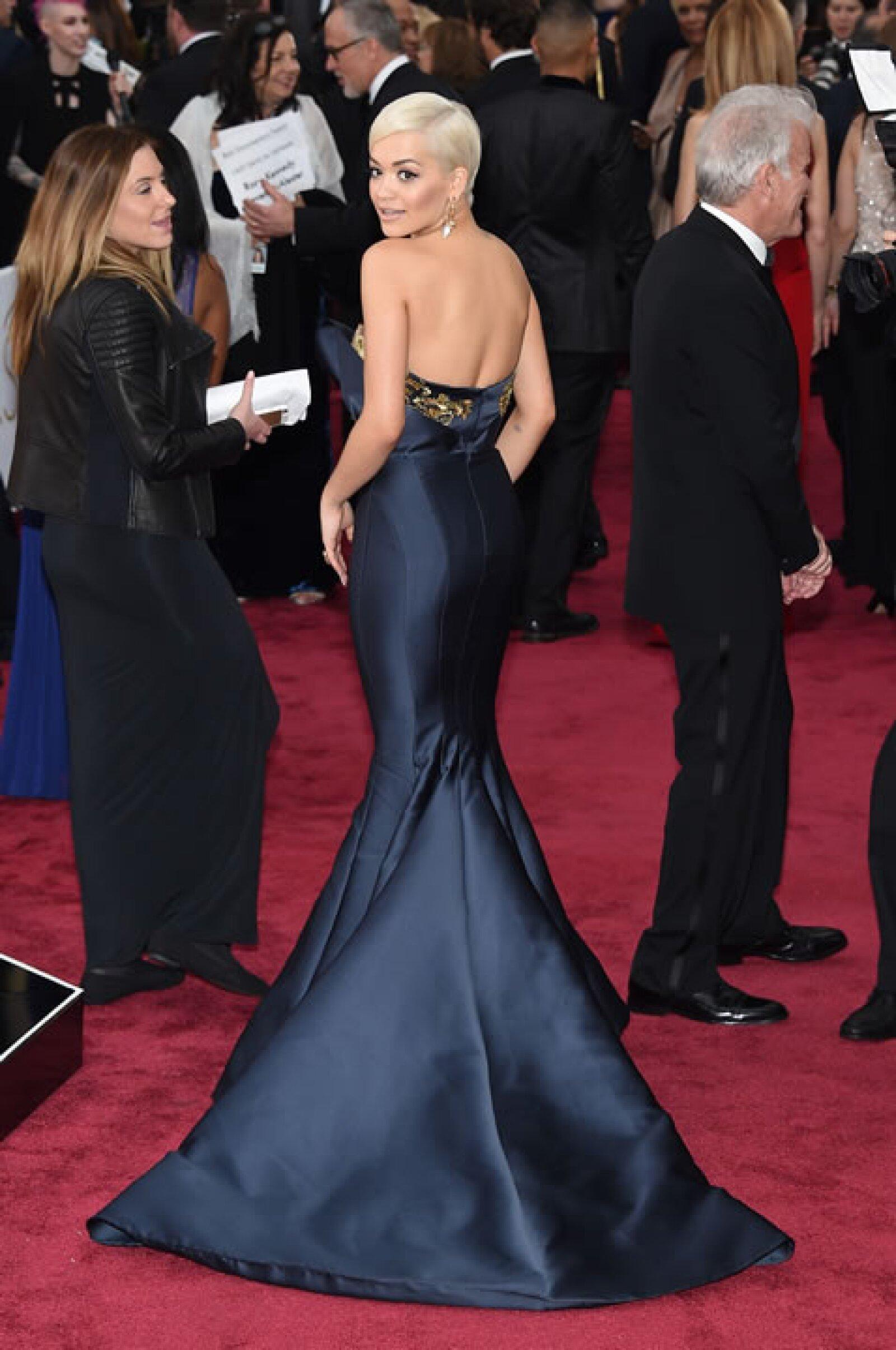 Rita Ora.