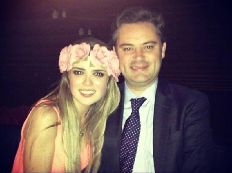María Aliaga comparte a través de redes sociales imágenes de pareja co Aurelio Nuño.