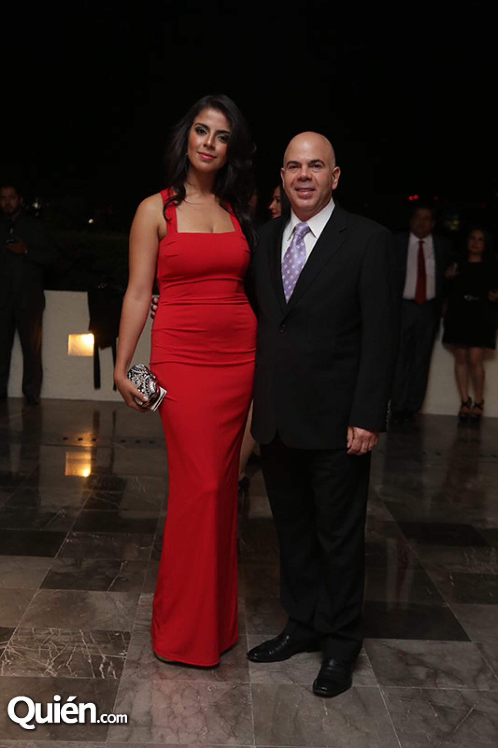 Jeanet y Alfredo Karam
