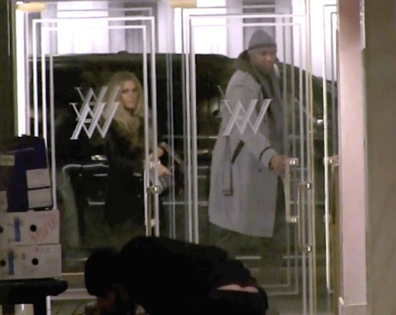Fueron vistos dejando su hotel.