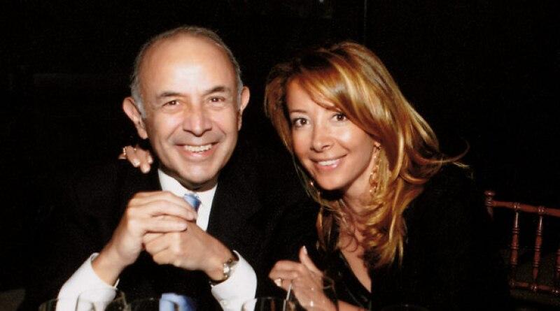 Clemente Serna Alvear y Gabriela Serna.