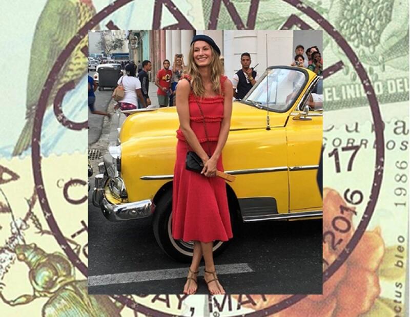 Gisele es de las consentidas de la firma. Ha sido modelo de pasarela e imagen de Chanel. Su presencia era obligada.
