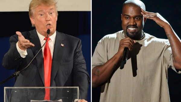 """En entrevista, el empresario habló del esposo de Kim Kardashian, a quien considera una buena persona, y cuya candidatura presidencial calificó como """"interesante""""."""