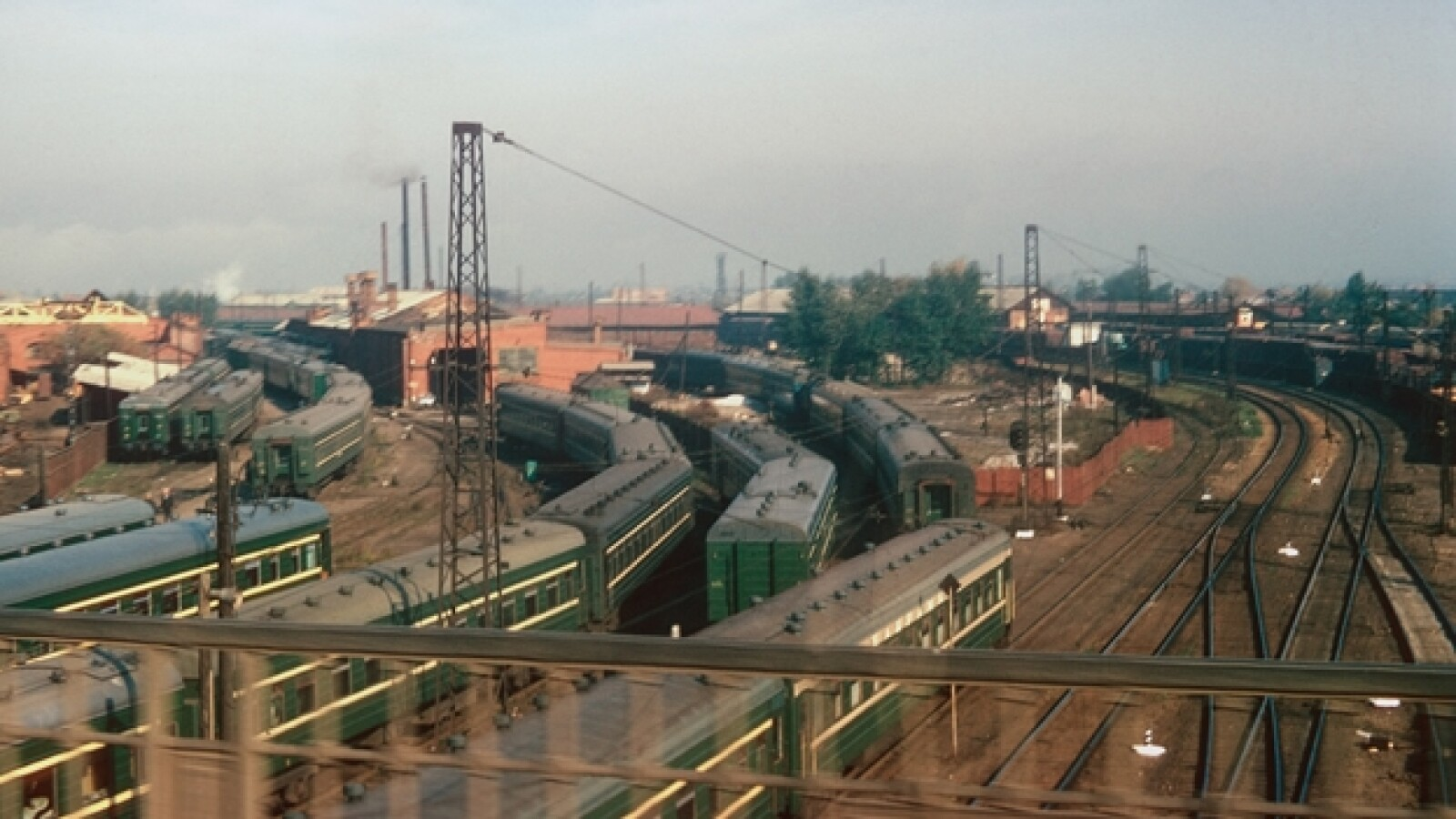 Trans-Siberian Railroad Rusia trenes