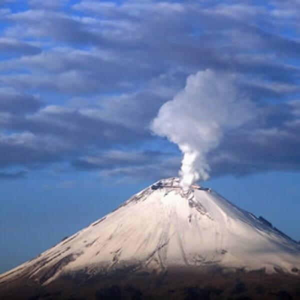 fumarola del volcan