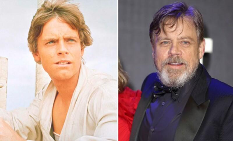 Mark audicionó por sugerencia de uno de sus amigos, quedándose con el papel principal de Luke Skywalker.