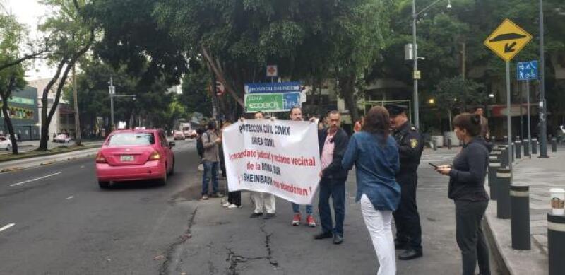 Vecinos contra Ubika Insurgentes