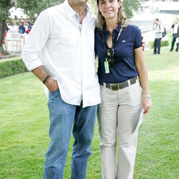 Alejandro Wallace y Selena Azcue